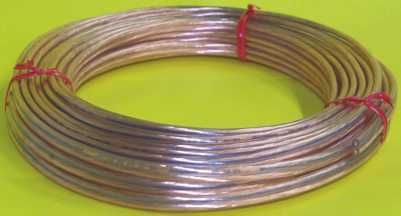 無酸素銅線スピーカーコード1.25SQ
