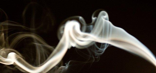 両切煙草の煙